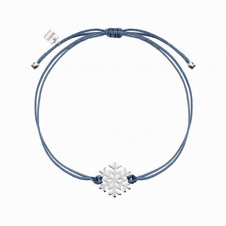 Life Snow Silver Bracelet