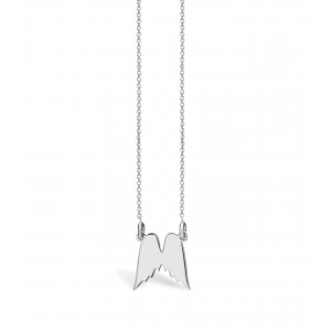 Spirit Wings Silver Necklace