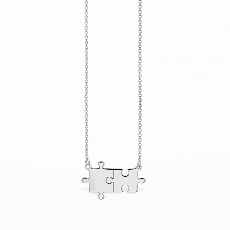 Life Puzzle Necklace
