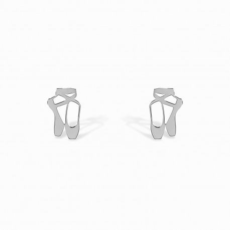 Mini Coquine Ballerina Silver Earrings