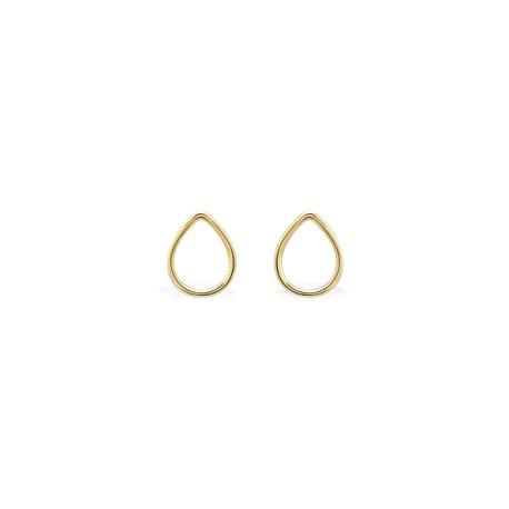Back to Basics Drop Golden Earrings