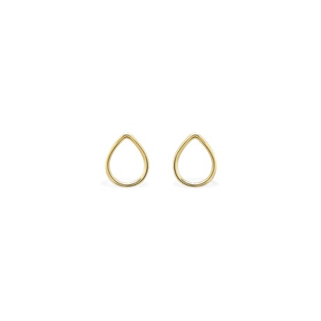 Basic Drop Golden Earrings