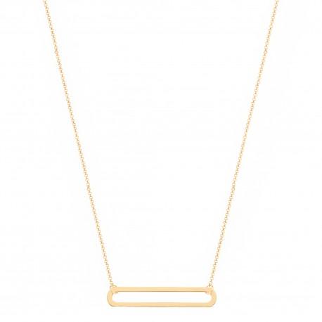 Basic 1 Link Golden Necklace