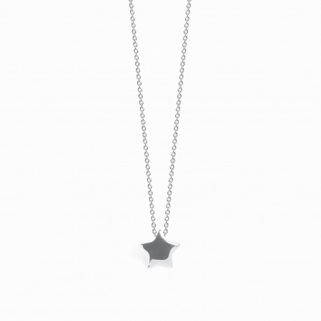 Full Star Silver Necklace