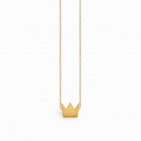 Full Crown Golden Necklace