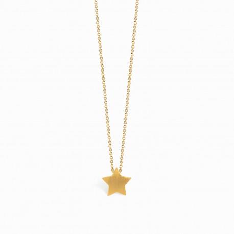 Full Star Golden Necklace