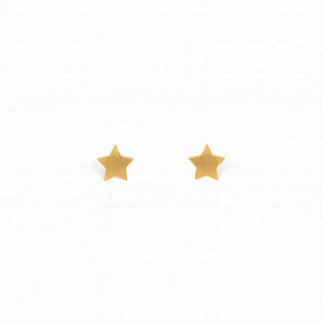 Brincos Full Estrela Dourados