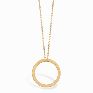 Full Circle Golden Necklace