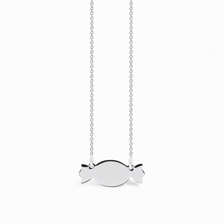 Mini Coquine Candy Silver Necklace