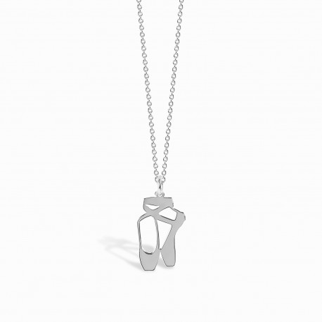 Mini Coquine Ballerina Silver Necklace