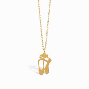 Mini Coquine Ballerina Golden Necklace