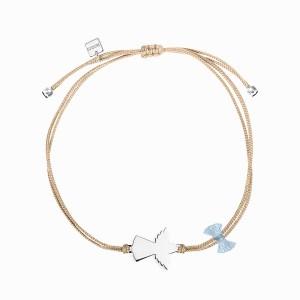 Spirit Angel Silver Linen Bracelet