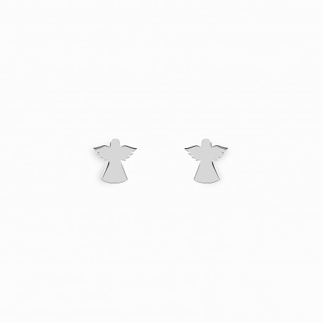Spirit Angel Silver Earrings