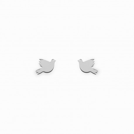 Holy Spirit Silver Earrings