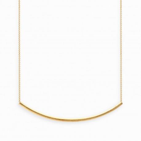 Colar Linear Arco Dourado