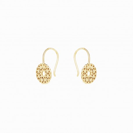 Boho Rosacea Golden Earrings