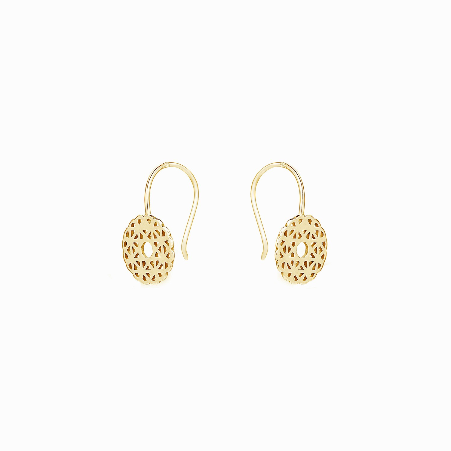 online trinetra at product buy golden earrings