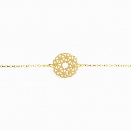 Boho Rosacea Golden Bracelet